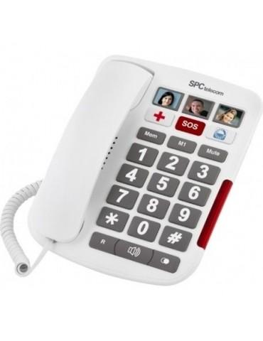 Teléfono fijo con teclas grandes