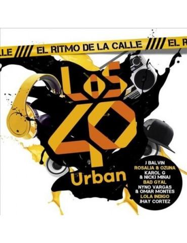 Los 40 Urban - El Ritmo De La Calle - Varios - 2Cds [CD]