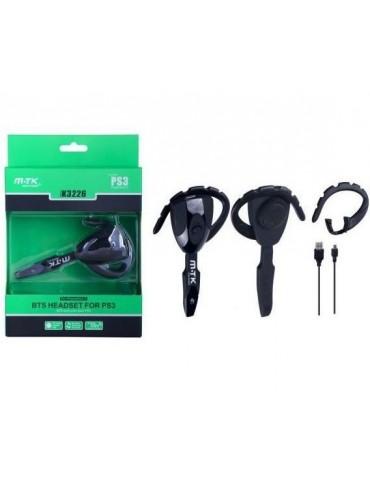 Auricular con micro compatible PS3 - M.TK - manos libres 10M BTS