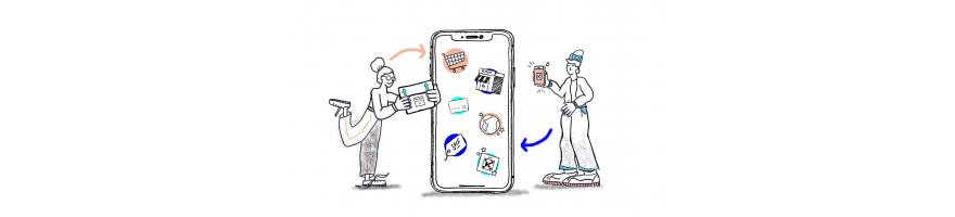 Telefonía: Móviles y Accesorios   UniMerkat